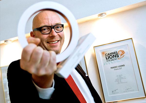 Radioguru med Creative Circle Award